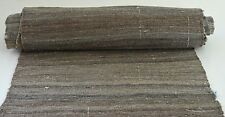 BEAUTIFUL VINTAGE ANTIQUE NARROW HAND WOVEN KELIM FABRIC RR884