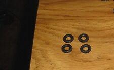 Matchbox King SIZE 4 black HARD plastic tires fits K-5 Racing Transporter