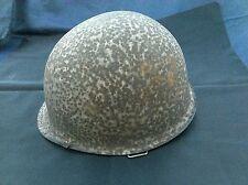 Elmetto americano militare 2° seconda guerra mondiale ww2 vintage epoca helmet