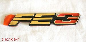 "OLDSMOBILE 88 98 TORONADO CUTLASS 24K GOLD PLATED ""FE 3"" EMBLEM - 20692323"