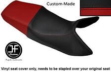 DARK RED & BLACK VINYL CUSTOM FITS HONDA 89-97 CBR 1000 F DUAL SEAT COVER ONLY