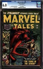 MARVEL TALES #107 CGC 6.0  OWW PRE-CODE HORROR BILL EVERETT COVER #1197396001