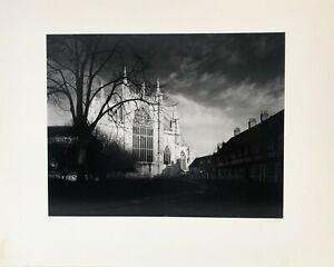 Bruce Barnbaum Silver Gelatin Photograph Sunrise York Minster 1981