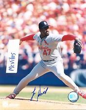 Lee Smith St. Louis Cardinals Autographed Signed 8x10 Photo COA