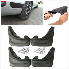 "4PC 14.17""x9.45"" Black Soft Plastic Car Front+Rear Mud Flap Splash Guards Fender"