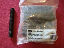 "10 ORBIT Water Master Underground Sprinkler PVC Cut-Off Riser Pipe 1/2 x 6"""