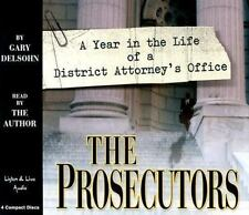 The Prosecutors 4-CD Audiobook - by Gary Delsohn - NEW - FREE SHIPPING