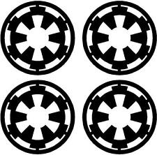 4 X Star Wars Galactic Empire Decals/Stickers