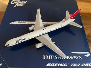 1:400 Gemini Jets British Airways Boeing 757-236 G-CPET 'Stokesay Castle'