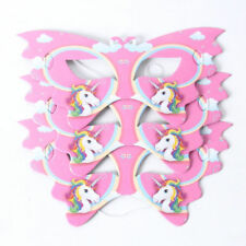 UNICORN BIRTHDAY PARTY MASKS LOLLY/ LOOT BAGS - SEE OUR PLATES/CUPS LISTING TOO