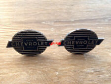 CHEVY CHEVROLET Cabinet Drawer Pulls Knobs Handles Vintage Style Bowtie man cave