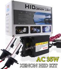 AC 35W Slim HID KIT Headlight Xenon Replace Bulb Lights H7R 6000k Diamond White