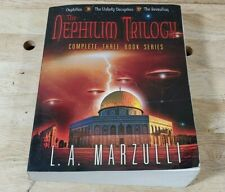 New ListingNephilim Trilogy Complete 3 Book Series By La Marzulli Autographed Signed