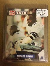 1991 Pro Set Promos #PSG1 Emmitt Smith Gazette : Dallas Cowboys