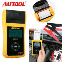 Autool BT-660 Auto Batteriesystem Tester Ladetester + Drucker für 12V Car EU