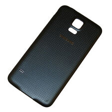 Genuine Back Battery Cover For Samsung Galaxy S5 G900F i9600 Charcol Black