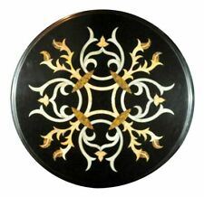 """18""""x18"""" Home Decor Marble Coffee Center Table Top Inlay Work"""