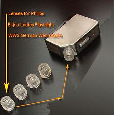 Linsen Philips Dynamo Taschenlampe Bi-Jou