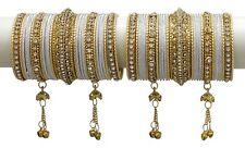 Indian Bollywood Designer Bridal Bangle Kada Set Wedding Wear Costume Jewelry