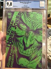 Batman: Three Joker #1 CGC 9.8 VARIANT COVER B 1:25  Johns & Fabok DC 2020 L@@K