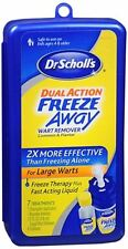 Dr. Scholl's Dual Action Freeze Away Wart Remover 7 Each (Pack of 4)