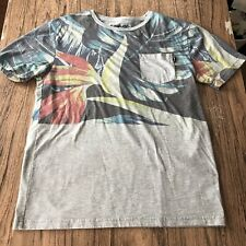 Empyre Floral Pocket Tee Shirt Size M #11400