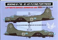 KORA Decals 1/72 DORNIER Do-200 Captured Luftwaffe B-17G Flying Fortress