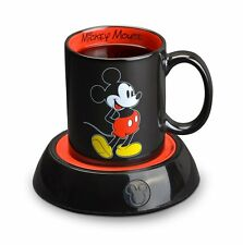 New Disney Mickey Mouse Electric Coffee Tea Beverage Cup Heater 10oz Ceramic Mug