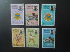 G 2564   QATAR ARABIAN GULF  FOOTBALL  SOCCER  CUP   SET MNH