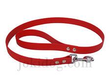 laisse biothane beta 25 mm x 1,20 m rouge - jokidog