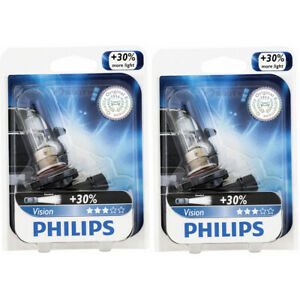 2 pc Philips 9005PRB1 Vision Headlight Bulbs for 9005XV Electrical Lighting ci