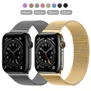 Milanese Band For Apple Watch Series SE 6 5 4 3 2 1 iWatch Magnetic Steel Strap