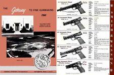 Smith & Wesson 1961 Gun Catalog
