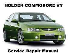 COMMODORE VY BERLINA CALAIS Auto Owners Workshop Service Repair Manual PDF CD-R