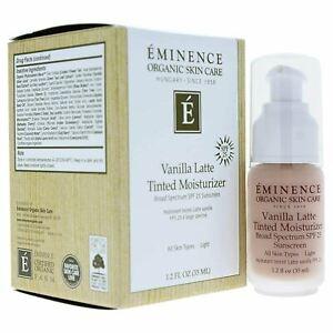 Eminence Vanilla Latte Tinted Moisturizer SPF 25 (light) 1.2oz