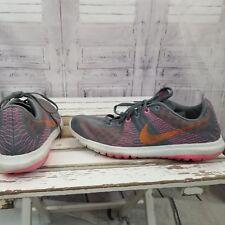 Nike AS IS women running flex fury trail 2015 mesh sz 9 shoe sneaker 705299-008