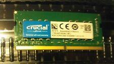 Crucial 8GB DDR4 2666 MHz PC4-21300 SODIMM 260-Pin Laptop Memory CT8G4SFS8266