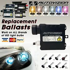 One 35W Autovizion Xenon HID Kit 's Replacement Ballast H1 H4 H7 H11 H13 9006