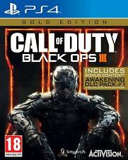 Call of Duty - Black Ops 3 Gold Edition For PS4 (New & Sealed)