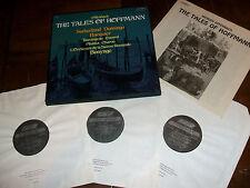 L'Orchestre de la Suisse Romande: Offenbach Tales Of Hoffmann 3 LP Box Set Vinyl