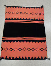 "Antique c1880 Navajo Blanket GERMANTOWN Panel Dress Half 35"" x 48"" Near Mint"