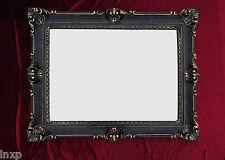 Wall Mirror Black Gold Antique Baroque Rococo 90x70 Frame Mirror New Deco 3