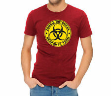Men's graphic T-shirt -Zombie Response Team