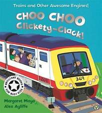 Choo Choo Clickety Clack (On the Go!) by Margaret Mayo, NEW Book, FREE & FAST De