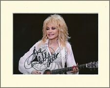 DOLLY PARTON 9 TO 5 PP 8x10 MOUNTED SIGNED AUTOGRAPH PHOTO