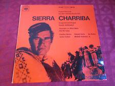 LP Ost Daniele Amfitheatrof sierra charriba ORIG estéreo CBC ger 1965