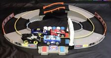 Fisher Price Shake N Go Speedway Race Track Complete with 4 Cars Shake and GO