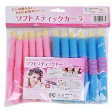 12pcs Bag Self-sticky Sponge Hair Styling Hair Curler Roller Modeling Soft DIY G