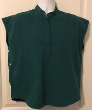 Figs Sleeveless Green Scrub Top/Shirt - Mens Size S