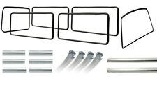Window Seal Bundle Kit VW T25 T3 1984-1992 (With Chrome Trim) Top Quality